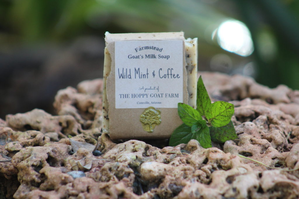 Wild Mint & Coffee Goat's Milk Soap