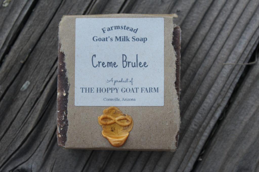 Creme Brulee Goat's Milk Soap