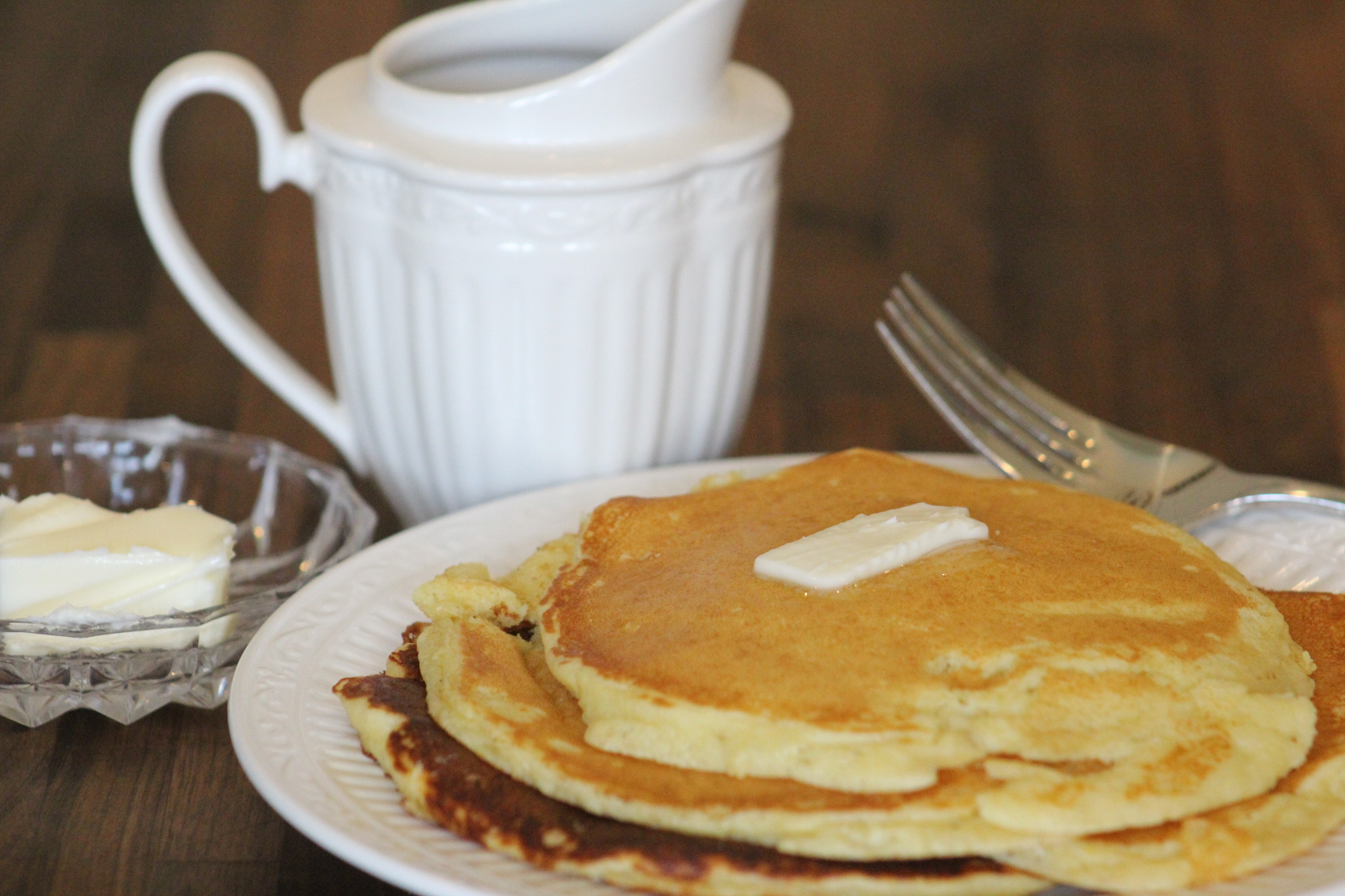 Farmhouse Almond Flour Pancakes